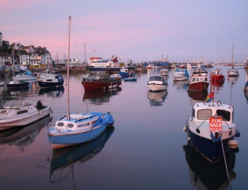 Places we've been: Brixham