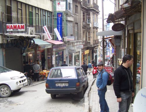 Places we've been: Taksim