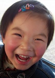 XIAN Jan05 little girl train